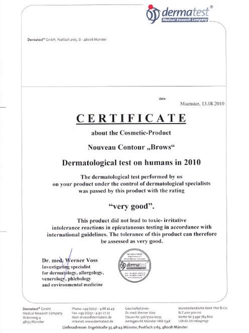 100816 Dermatest NC Brows