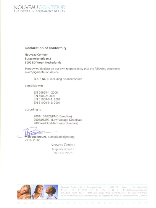 CE certificate gep